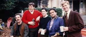 """See that guy on the far left? Since 1978, he gained a few pounds and now plays a very conservative acting role on cable's """"Rizzoli and Isles."""""""