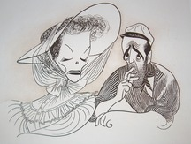 Al Hirschfeld's delicious caricature sums things up perfectly.