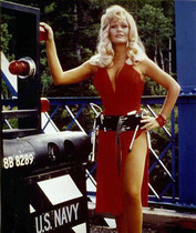 44_Superman_The_Movie_Behind_Scenes_1978_Valerie_Perrine_Miss_Eve_Teschmacher_Truck_Missile_Hijack_Convoy_Canada_August_1977