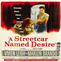 A STREETCAR NAMED DESIRE (1951) – Marlon Brando as a still-scorching  Stanley Kowalski |